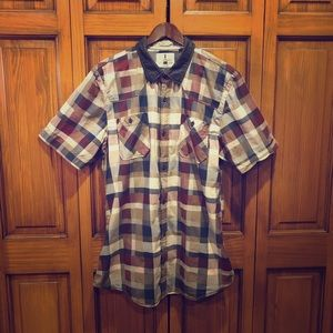 iJeans by Buffalo short sleeve button down XL